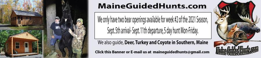 Maine Guided Hunts.com